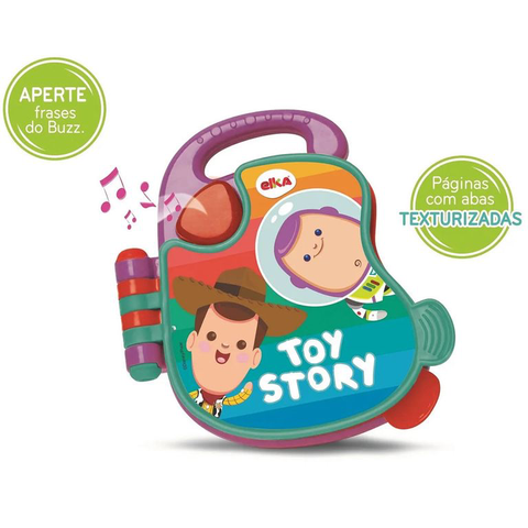 Meu Livrinho Sonoro - Toy Story Baby - Elka - playnjoy.shop