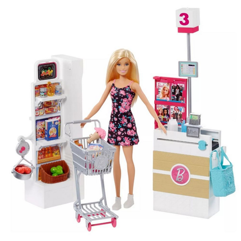 Supermercado de Luxo da Barbie - FRP01 - playnjoy.shop