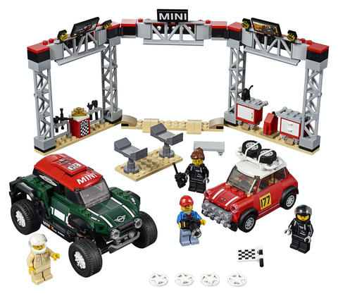 1967 Cooper S Rally E 2018  John Cooper Works Buggy - 75894 - Lego - playnjoy.shop
