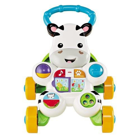 Apoiador Andador Zebra - DLH48 - Fisher Price Mattel - playnjoy.shop