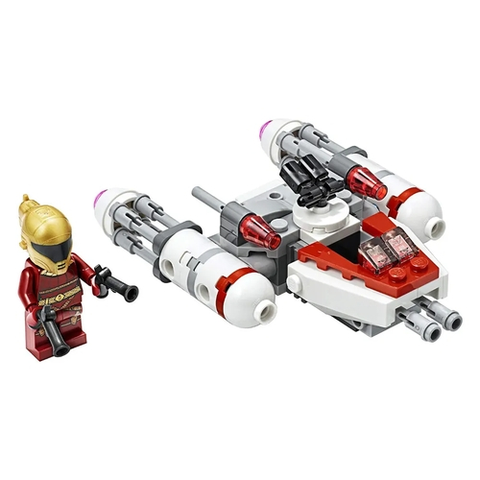 Microfigher Y-wing Da Resistencia - 75263 - Lego - playnjoy.shop