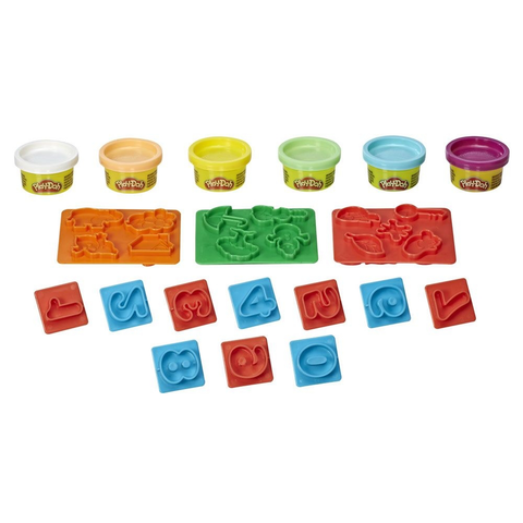 Play-Doh Fundamentals Numeros - E8533 - HASBRO - playnjoy.shop