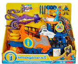Navio Comando do Mar Unidade Imaginext DFX93 - MATTEL - playnjoy.shop