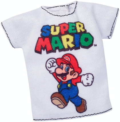 Barbie Blusas Licenciadas Super Mario - FYW84 - MATTEL - playnjoy.shop