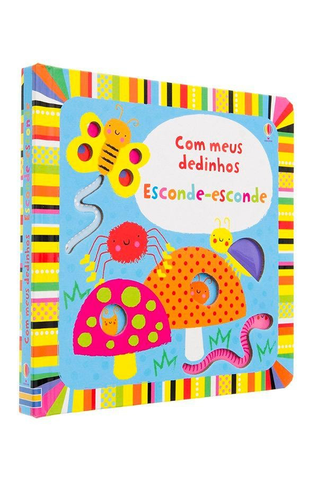 Com Meus Dedinhos. Esconde-Esconde - Usborne - playnjoy.shop