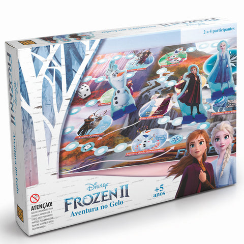 Jogo Aventura no Gelo - Frozen 2 - Grow - playnjoy.shop