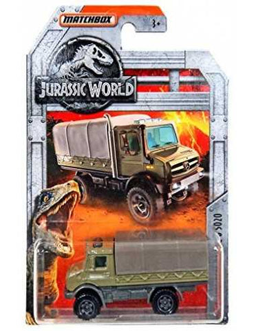 Matchbox Sortido - Jurassic World Diecast Collection - 2019 -Mattel - playnjoy.shop