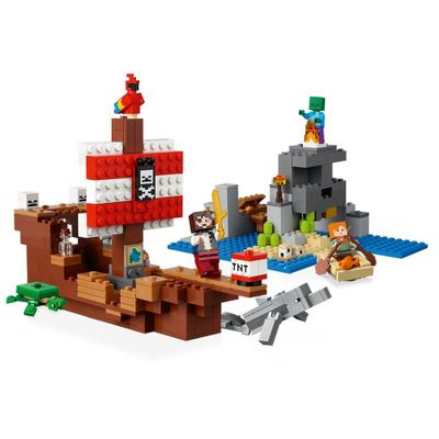 A Aventura Do Barco Pirata -21152 - Lego