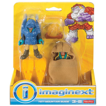 Yeti Basico Imaginext FFR82 - MATTEL - playnjoy.shop