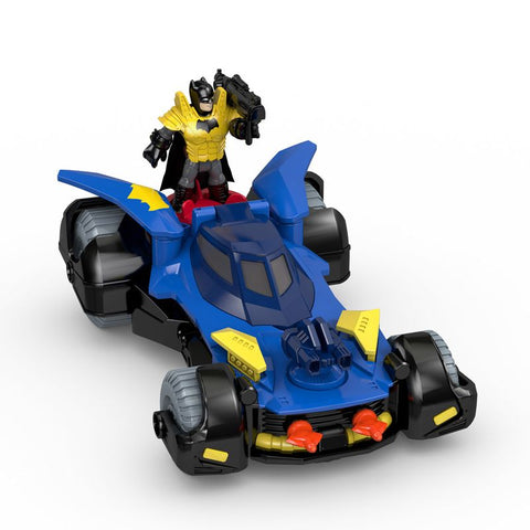 IMAGINEXT DC SUPER BATMOVEL DHT64 - MATTEL - playnjoy.shop