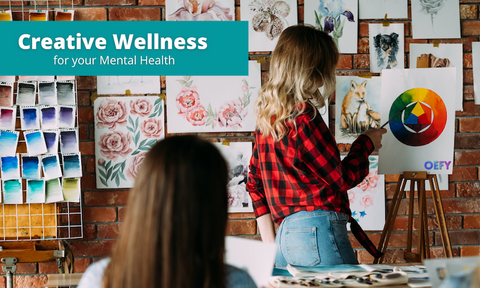 Creative Wellness - Online Art Therapy