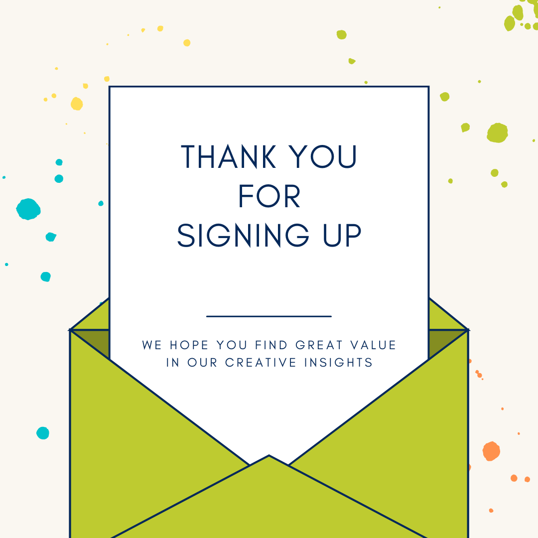 Thank you for signing up!