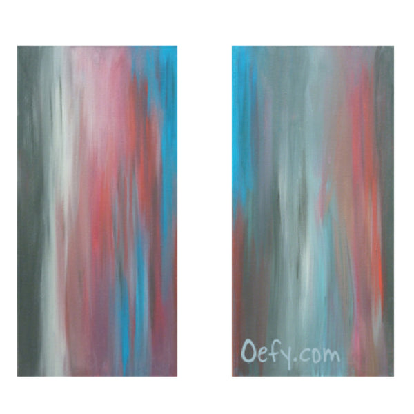 Within Your Dimlight View Dual Panel Wall Art