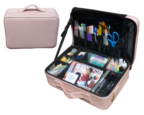 Ultimate Art Therapy Kit - Pink Case