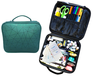 Art Therapy Kit - Green Case