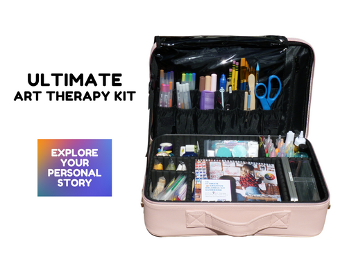 Ultimate Art Kit - 60+ Art Therapy Activities and Supplies
