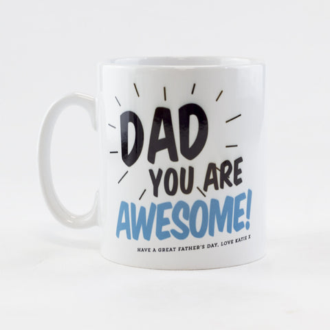 Awesome Dad Mug | Personalised Father's Day Mug - Prints With Feelings