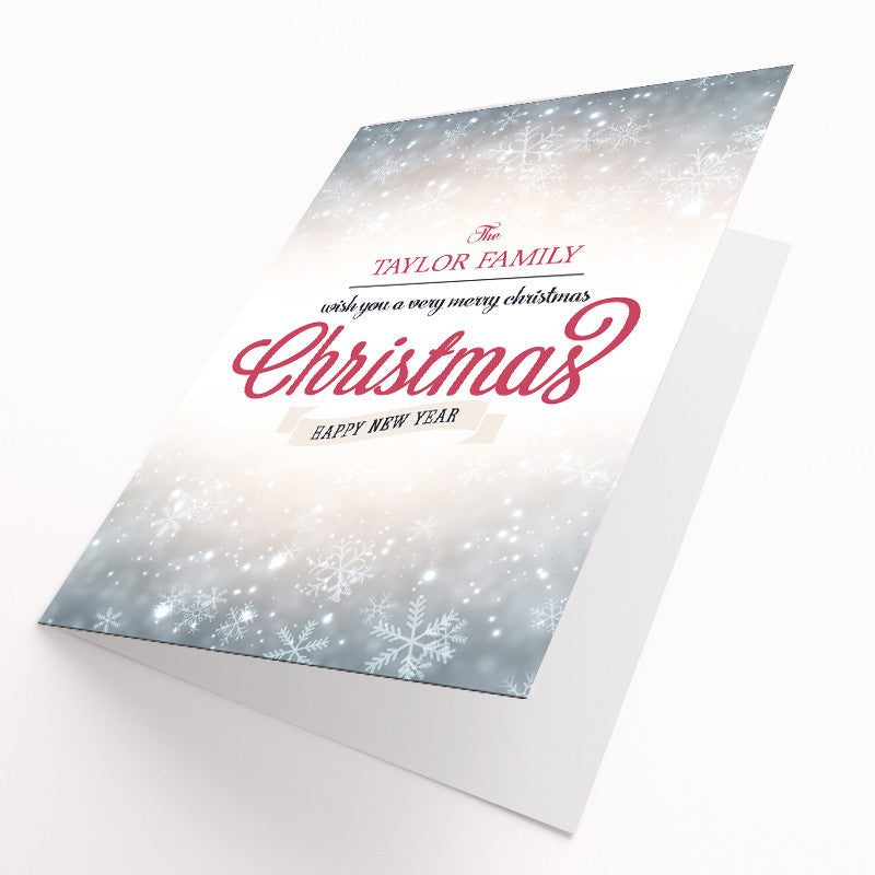 Personalised Christmas Cards Pack | Live Preview - Prints With Feelings  - 2