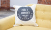 Personalised Family Cushion - Prints With Feelings  - 2