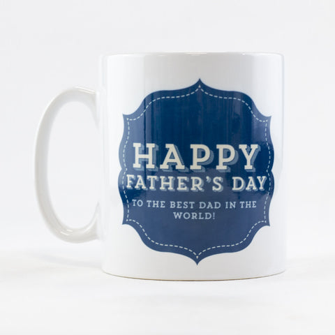 Happy Father's Day Mug | Personalised Father's Day Mug - Prints With Feelings
