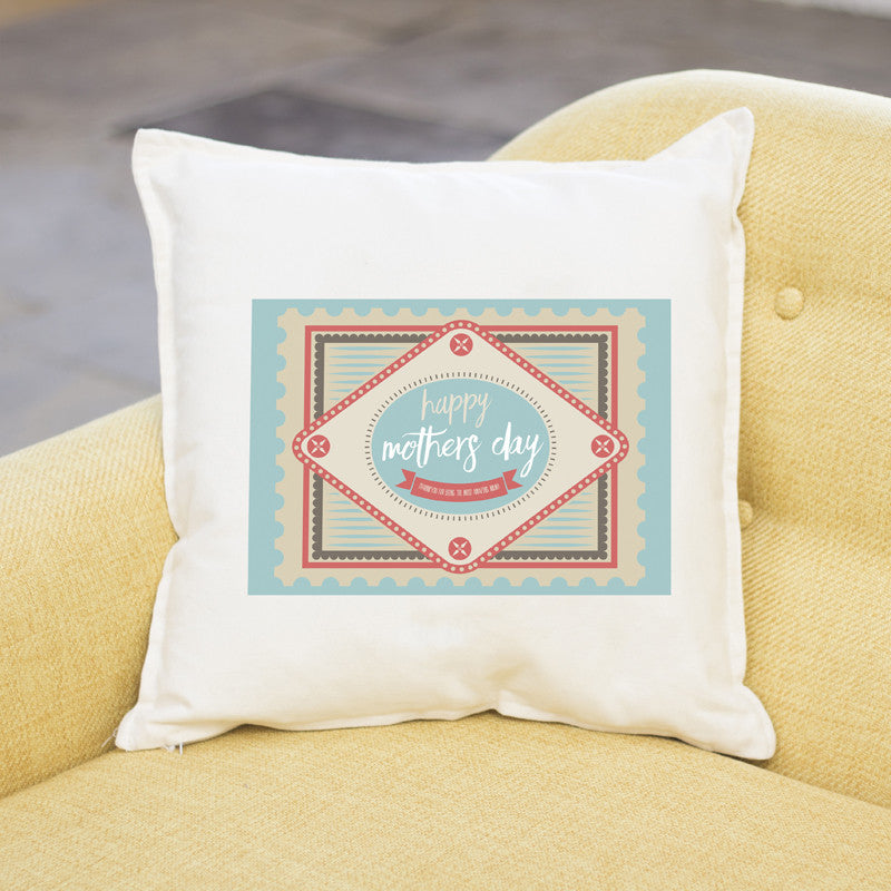 Happy Mother's Day Cushion | Personalised Mother's Day Cushion | 3 colours - Prints With Feelings  - 1