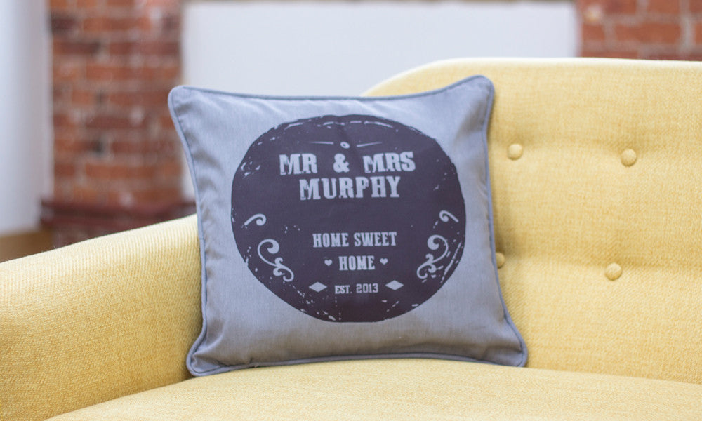Personalised Family Cushion - Prints With Feelings  - 3