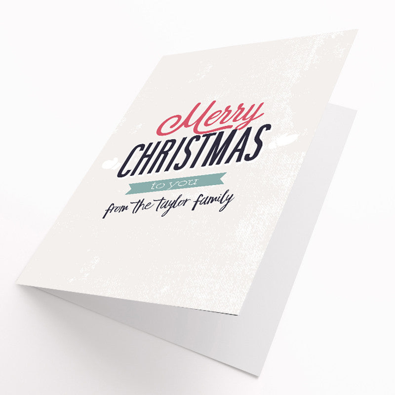 Personalised Christmas Card Pack | Live Preview - Prints With Feelings  - 1