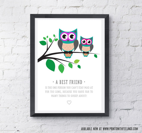 Best Owls Print - Prints With Feelings