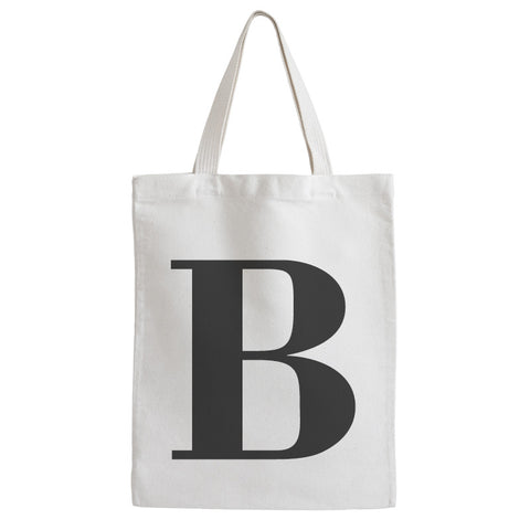 Classic Letter Tote Bag - Prints With Feelings  - 2