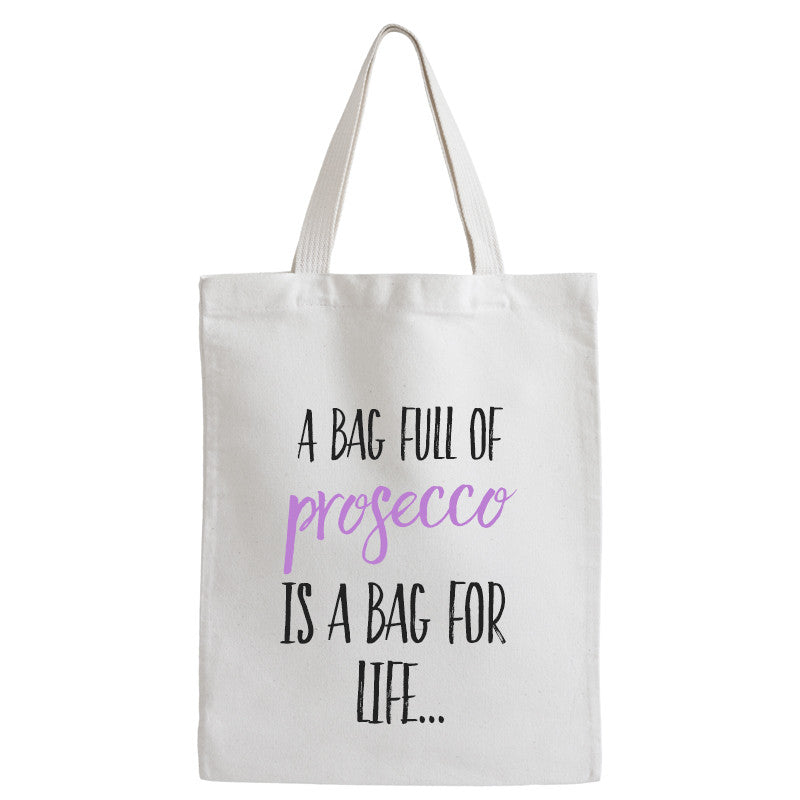 Prosecco Bag For Life | Tote Bag - Prints With Feelings
