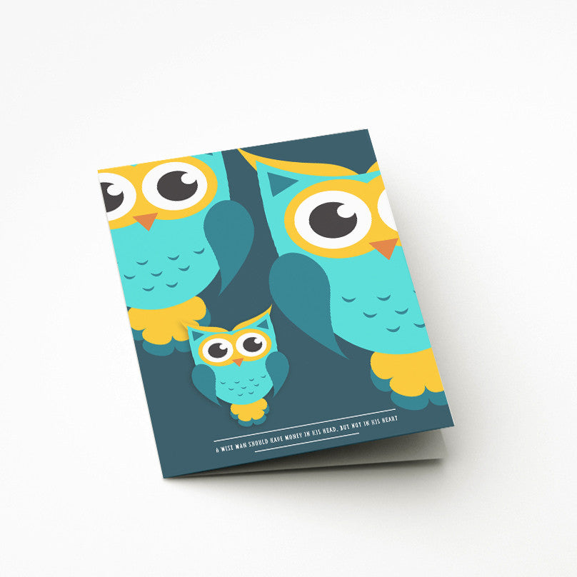 Favourite Owl Card - Prints With Feelings
