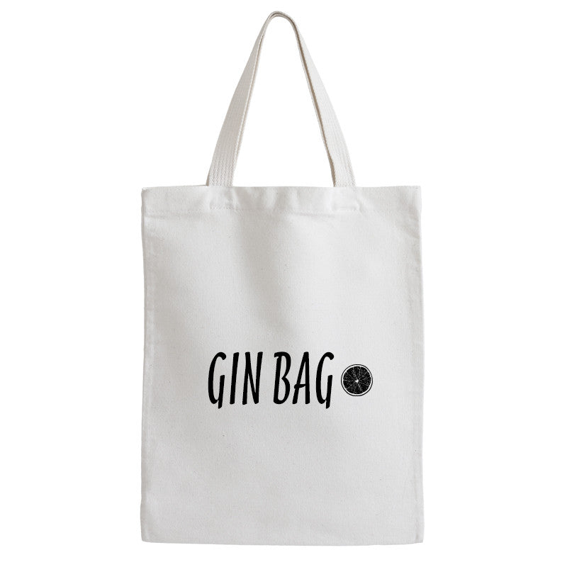 Bag Of Gin Tote Bag - Prints With Feelings