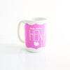 Personalised Hen Mug - Prints With Feelings  - 1