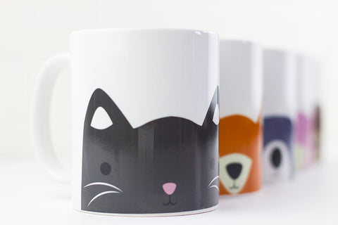 Animal Mug Set - Prints With Feelings  - 2