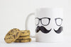 Moustache Mug - Prints With Feelings  - 2