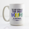 Literally The Best Dad In The World Mug - Prints With Feelings  - 1