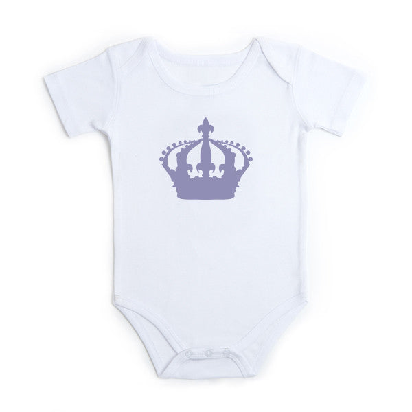 Crown Design | Babygrow - Prints With Feelings