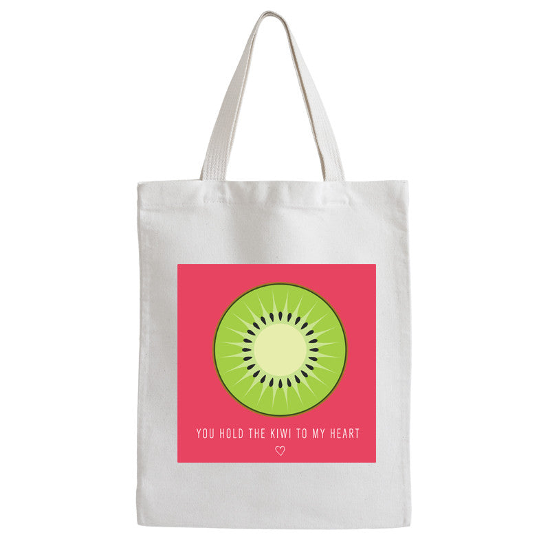 You Hold The Kiwi To My Heart Tote Bag - Prints With Feelings  - 1
