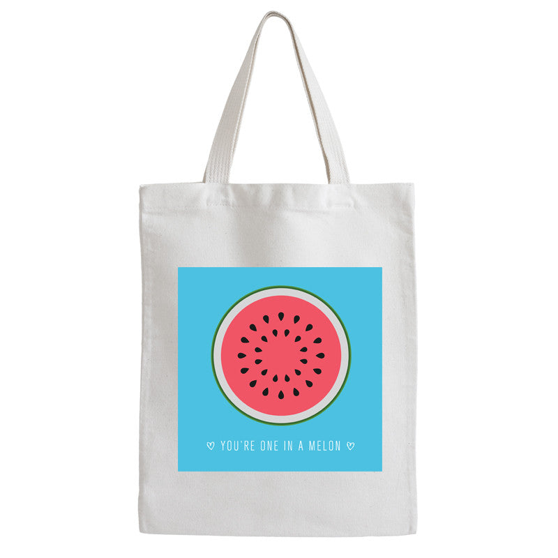 You Are One In A Melon Tote Bag - Prints With Feelings
