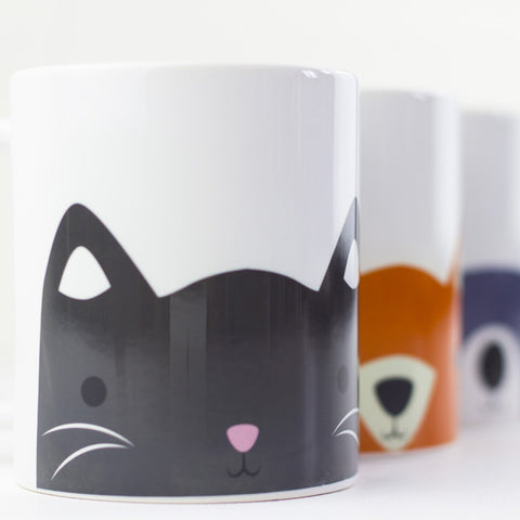 Animal Mug Set - Prints With Feelings  - 1