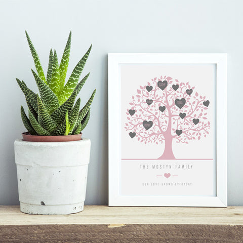 'Family Tree' & 'Home Sweet Home' prints - New - Prints With Feelings  - 1