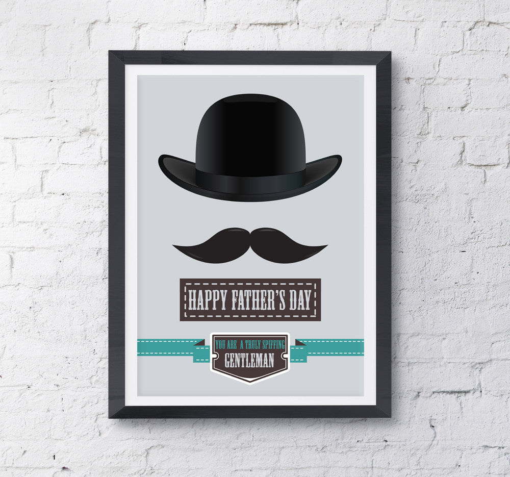 Spiffing Dad - Father's Day Print - Prints With Feelings