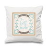 The Best Mum | Personalised Mother's Day Cushion | 2 colours - Prints With Feelings  - 1