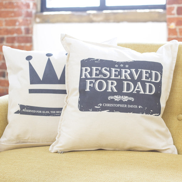 Reserved For & Family Cushion - Prints With Feelings  - 1