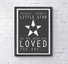 Twinkle Twinkle Little Star Print - Prints With Feelings  - 2