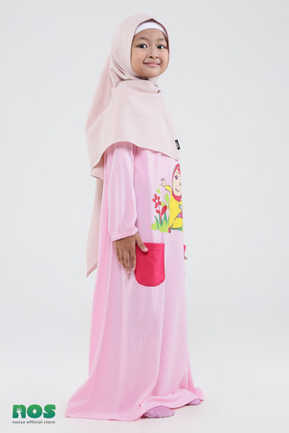 Nussa - Nussa X Hijup Rarra menari Long Dress