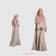 Nussa - X Ria Miranda -Umma Dress Set B