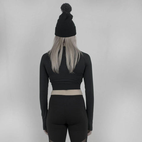 Verne Long Sleeve Crop Top - DISHONOR LONDON