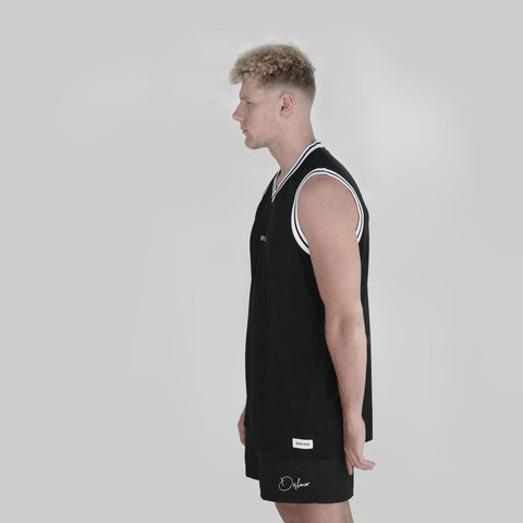 ANDERSON VARSITY SLEEVELESS VEST - DISHONOR LONDON