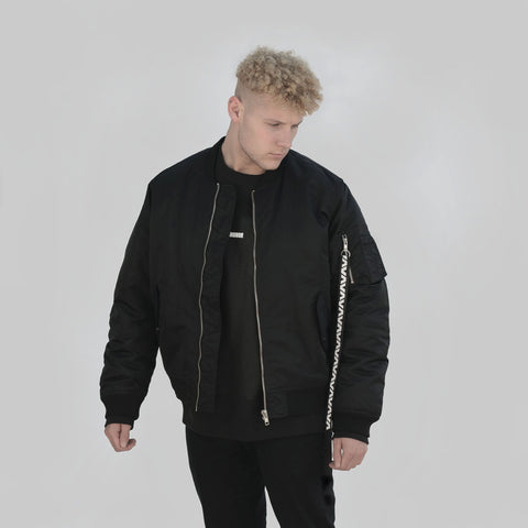 Hurricane Oversized Flight Jacket - DISHONOR LONDON